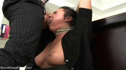 Bound Gangbangs Full Videos - Secretary Take Down:Boss & Friends Tie Her Up & Fill Her Pussy W/ Cum