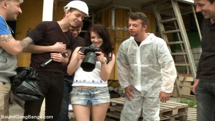Free Bodage Video - The Perfect Picture - Tiny Russian Girl Ganbanged, Two Dicks In Ass